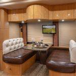 Coach Stock 718 Interior Dining Area