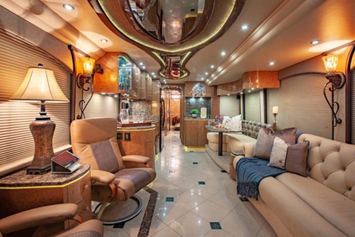 Coach Stock 755 Interior