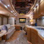 Coach Stock 757 Interior Dining