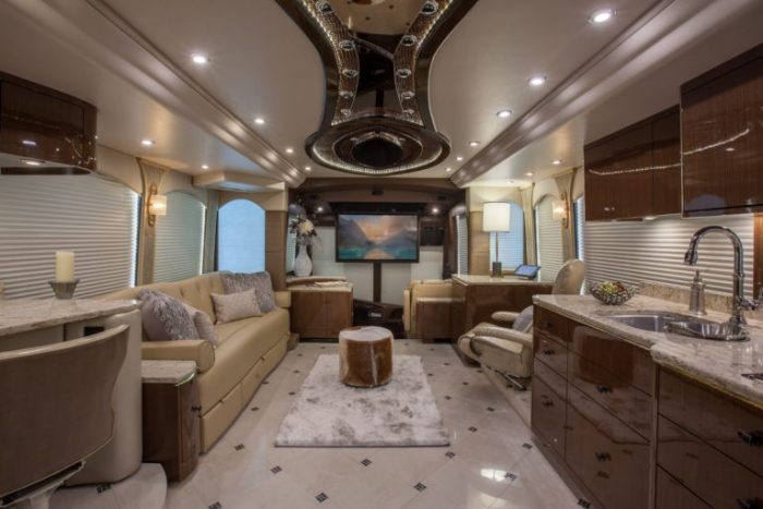 Coach Stock 758 Interior Living Area