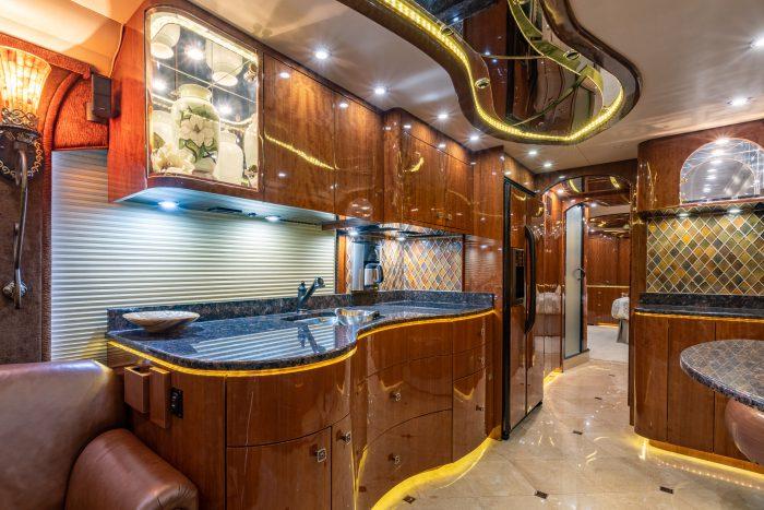 2012 Millennium H3-45 Stock #772 - Kitchen sink