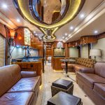 2012 Millennium H3-45 Stock #772 - Internal view from front to back