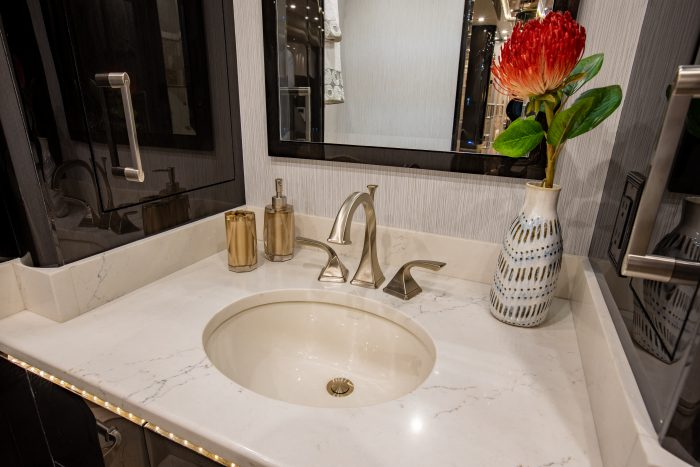 2021 Millennium H3-45 Stock #10161 - Bathroom sink