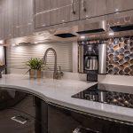 2021 Millennium H3-45 Stock #10161 - Kitchen sink