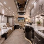 2021 Millennium H3-45 Stock #10161 - Internal view from back to front