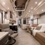 2021 Millennium H3-45 Stock #10161 - Internal view from front to back