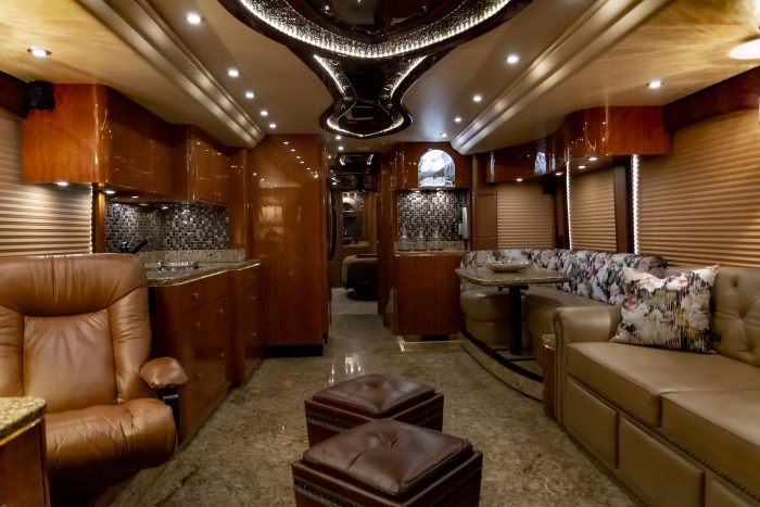 2014 Millennium H3-45 - View from interior front to back