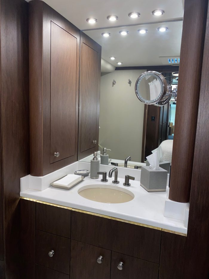 2017 Millennium H3-45 Stock #: 721 - Bathroom sink