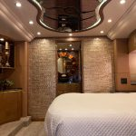 2010 Millennium H3-45 Stock #798 - Bedroom with bar area and attached bathroom